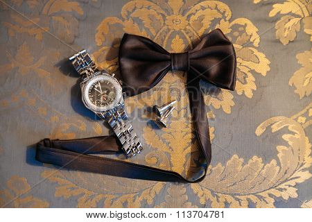 Bow Tie And Handcuffs