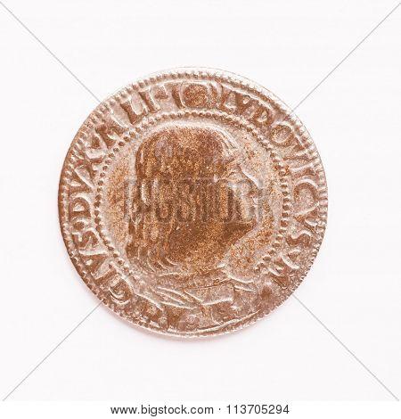Old Roman Coin Vintage