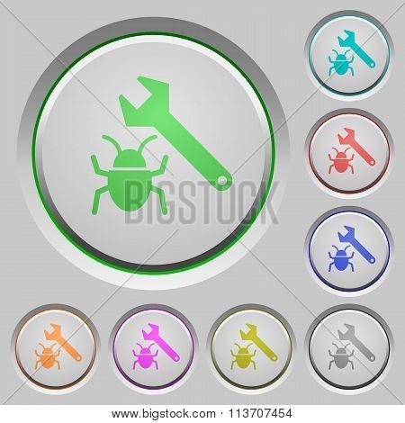 Bug Fixing Push Buttons