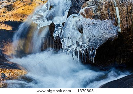 Frozen Mountain River