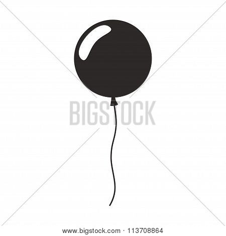 Balloon isolated icon.