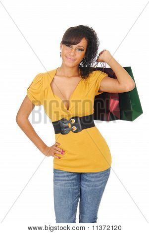 Ethnic Woman Shopping