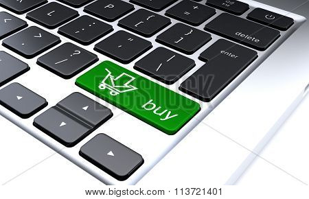 Fragment Of A Keypad