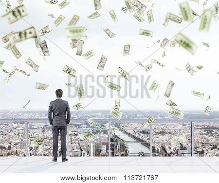 Money Snowfall