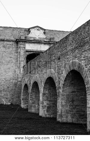 Arches Under The Main Gate