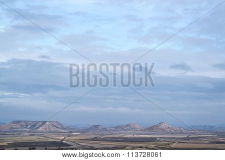 Plateaus In Bardenas Reales