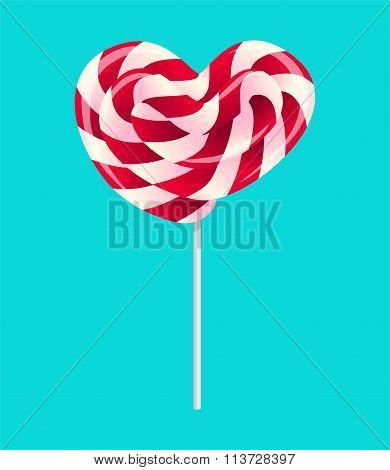 Lollipop for Valentine's Day
