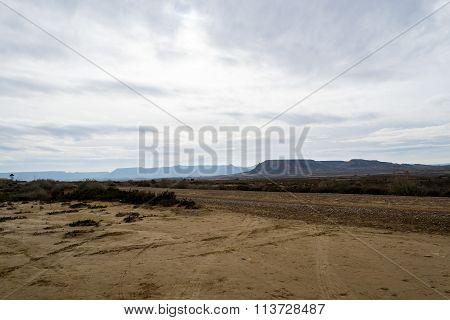 Road Across Bardenas