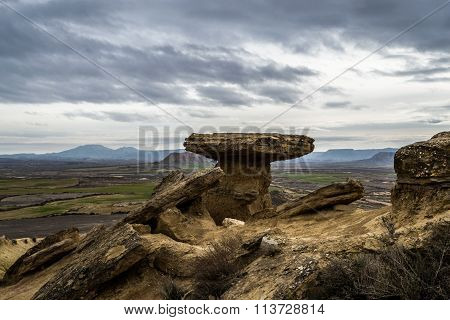 High Tock In Bardenas Reales