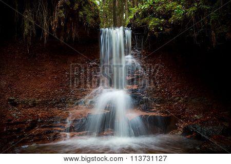 Zartapu waterfall, Latvia