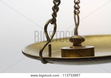 Golden Weighing Scale