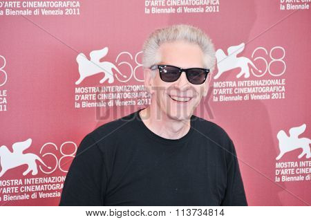 Director David Cronenberg