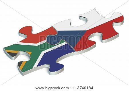 Czech Republic And South Africa Puzzles From Flags