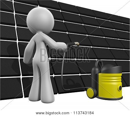 3D Lady Roof Cleaning Pressure Washer