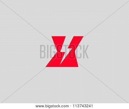 Abstract letter X logo. Dynamic unusual font. Universal fast speed fire moving quick energy icon.