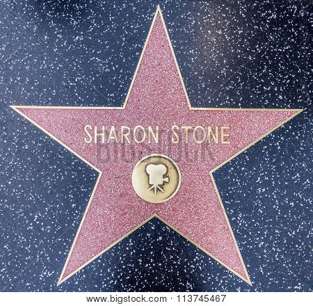 Sharon Stone star