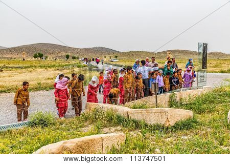 Pasargad children's excursion