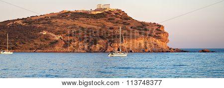 Cape Sounion, Poseidon's Temple, Attica, Greece