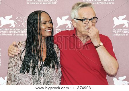Actress Zeudi Araya and director Marco Bellocchio