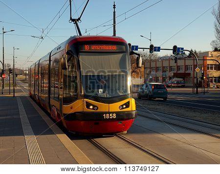 Tram City.