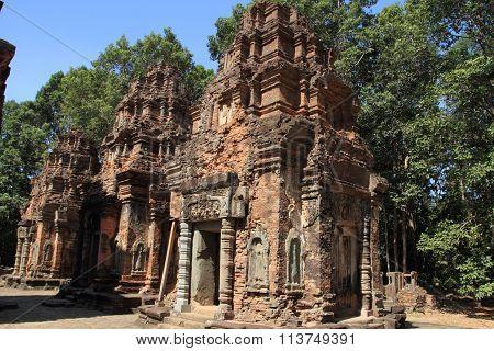Preah Ko in Angkor Siem Reap Cambodia