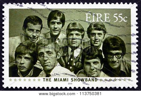 Postage Stamp Ireland 2010 The Miami Showband