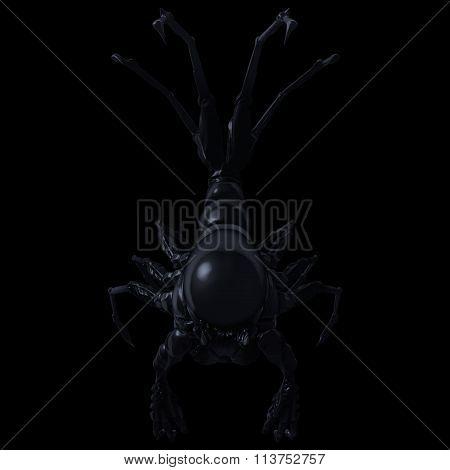 Subterrestrial Alien Descending