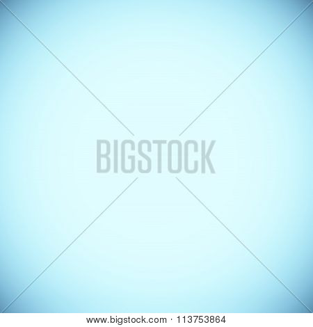 White Blue Radial Gradient Background