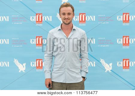 Actor Tom Felton