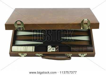 Playing Games Series - Backgammon Board Game Case