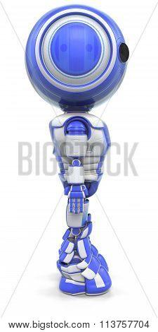 Robot Standing Straight