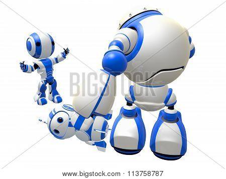 Big Mean Robot Bully