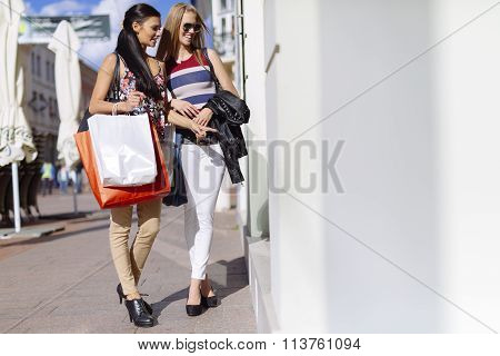 Beautiful Women Shopping Spree