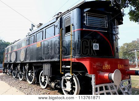Antique Rail Engine