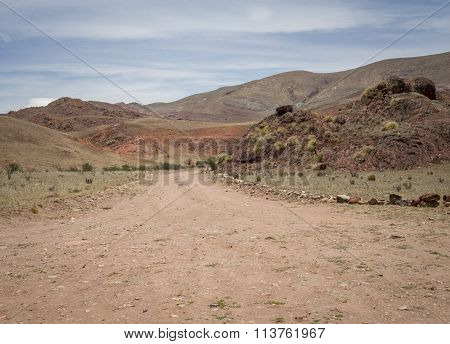 Winding Dirt Road salta