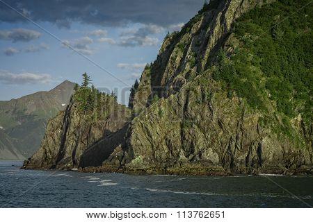 Sunset Kenai Coast, Alaska