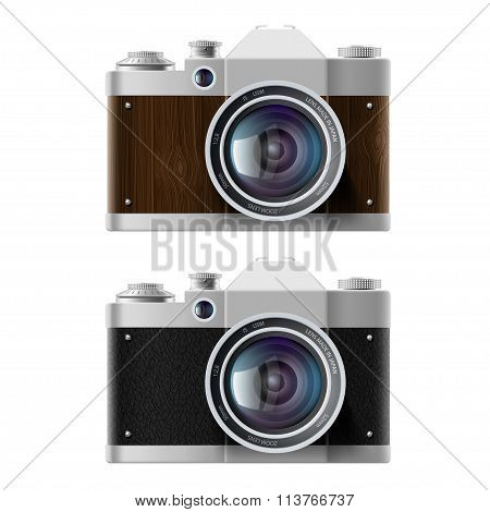 Cameras. Stock Illustration.