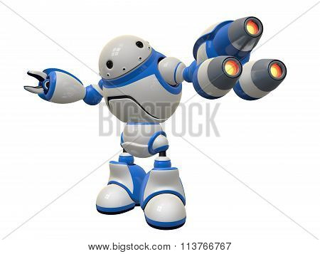 Internet Security Bot, Plasma Guns Ready To Fire