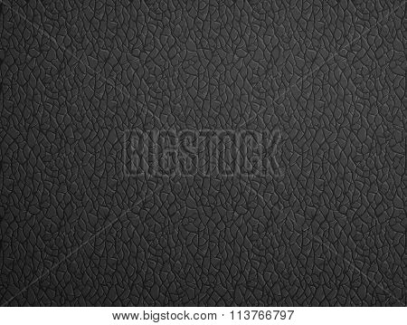 Black Leather. Stock Illustration.