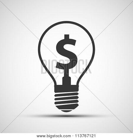 Dollar Sign. Stock Illustration.
