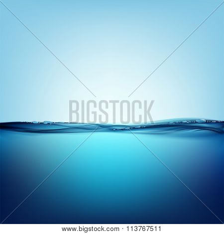 Natural Background. Stock Illustration.