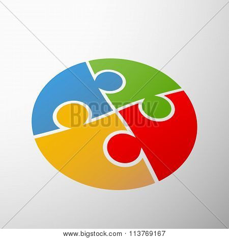 Symbol Partnership. Stock Illustration.