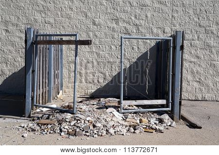 Dumpster Enclosure