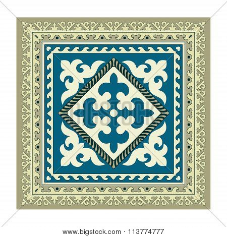 Napkin of the Kyrgyz national ornament