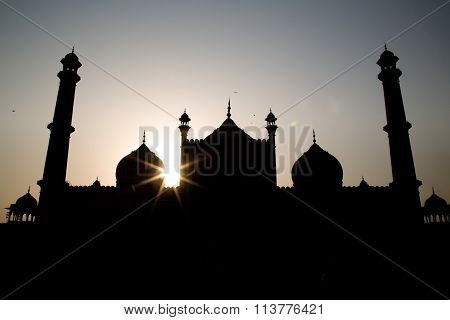 Jama Masjid Sunset, Delhi, India