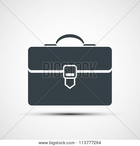 Logo Briefcase. Stock Illustration.
