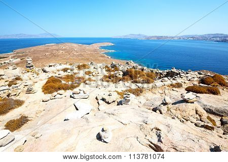 Famous   In Delos Greece The Historycal