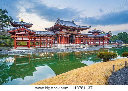 Byodo-in Temple In The City Of Uji In Kyoto Prefecture, Japan.
