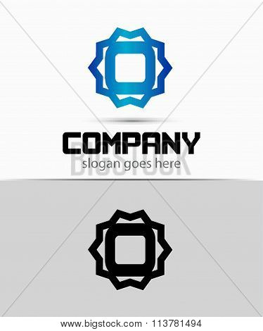 Letter O Alphabetical Logo Design Concepts