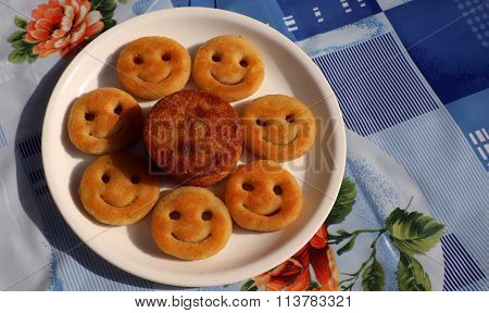 Aloo Tikki or Fried Potato Patties